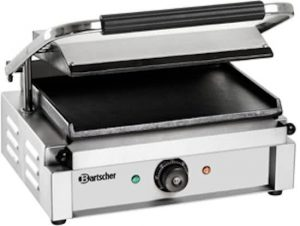 Grill-contact-Panini-plaques-lisse